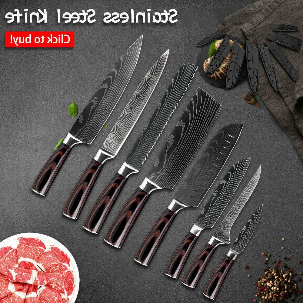 Kitchen Steel Pattern Chef