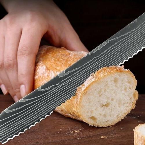 Kitchen Chef Knives Damascus Knife Value