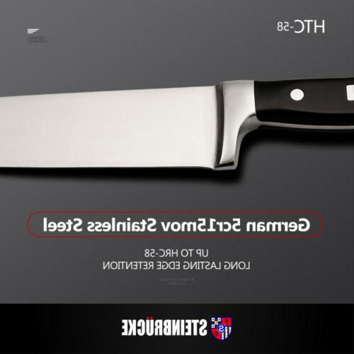 Professional Kitchen Chef Knife Forged 8 Classic German 5Cr15Mov