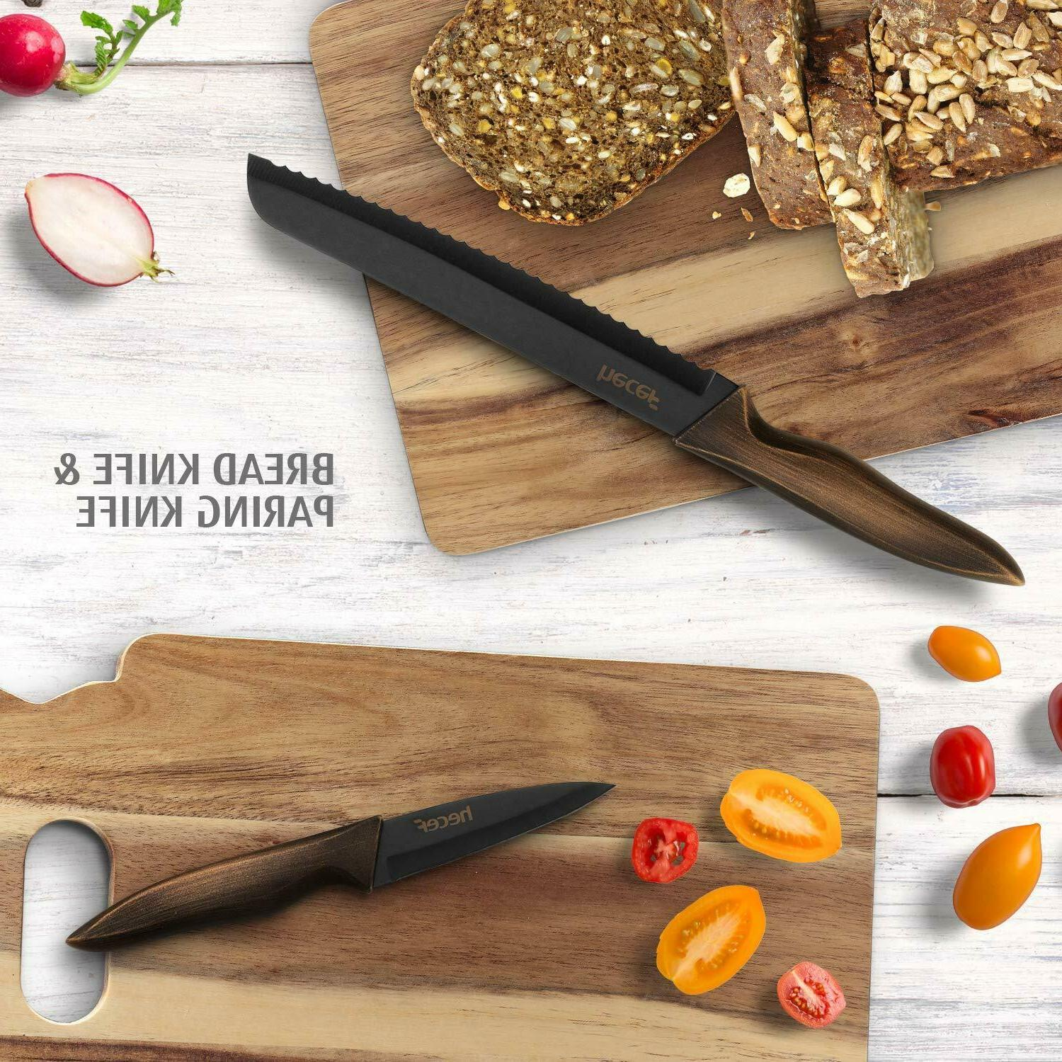 Kitchen Stainless Steel Color Coating Blade Knives