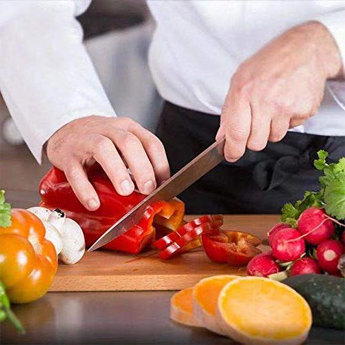 Homgeek 2-Piece Ultra Chef inch Knife & 7 inch Santoku Handle