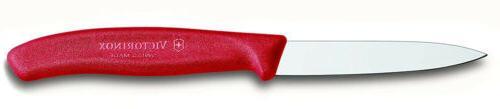 kitchen paring knife straight edge spear tip
