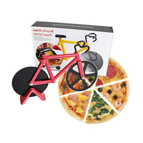 Kitchen Stainless Pizza Cutter Wheel Roller