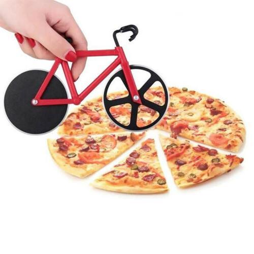 Kitchen Steel Pizza Bike Wheel Knife