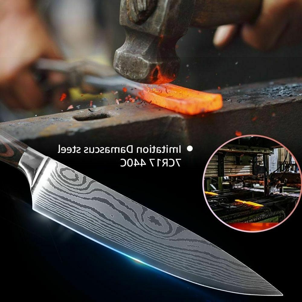 Kitchen Chef 7CR17 High Stainless Damascus