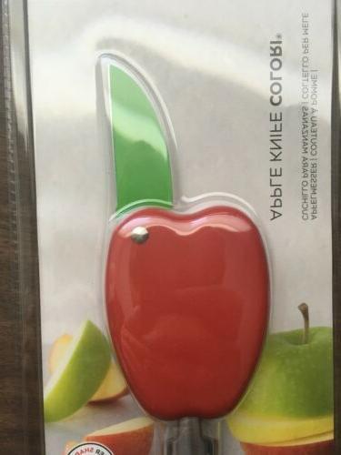 Knife Kuhn Rikon Apple Knife Colori Kitchen Fruit