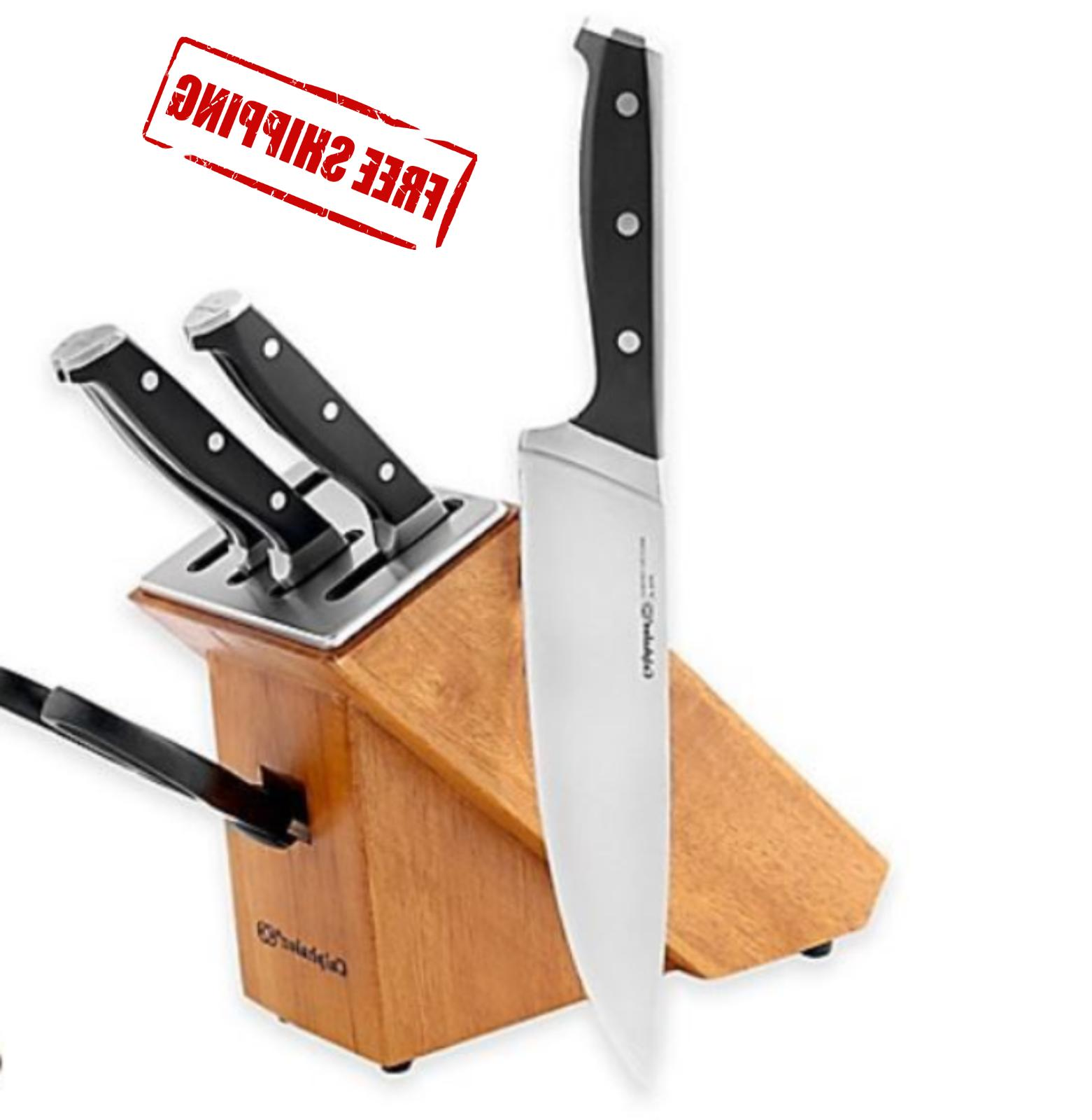 knife block set classic selfsharpening 6 piece