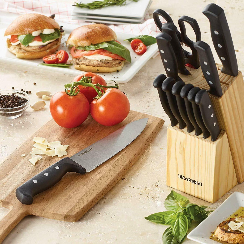 Knife Rivet Steel Kitchen 22 Piece
