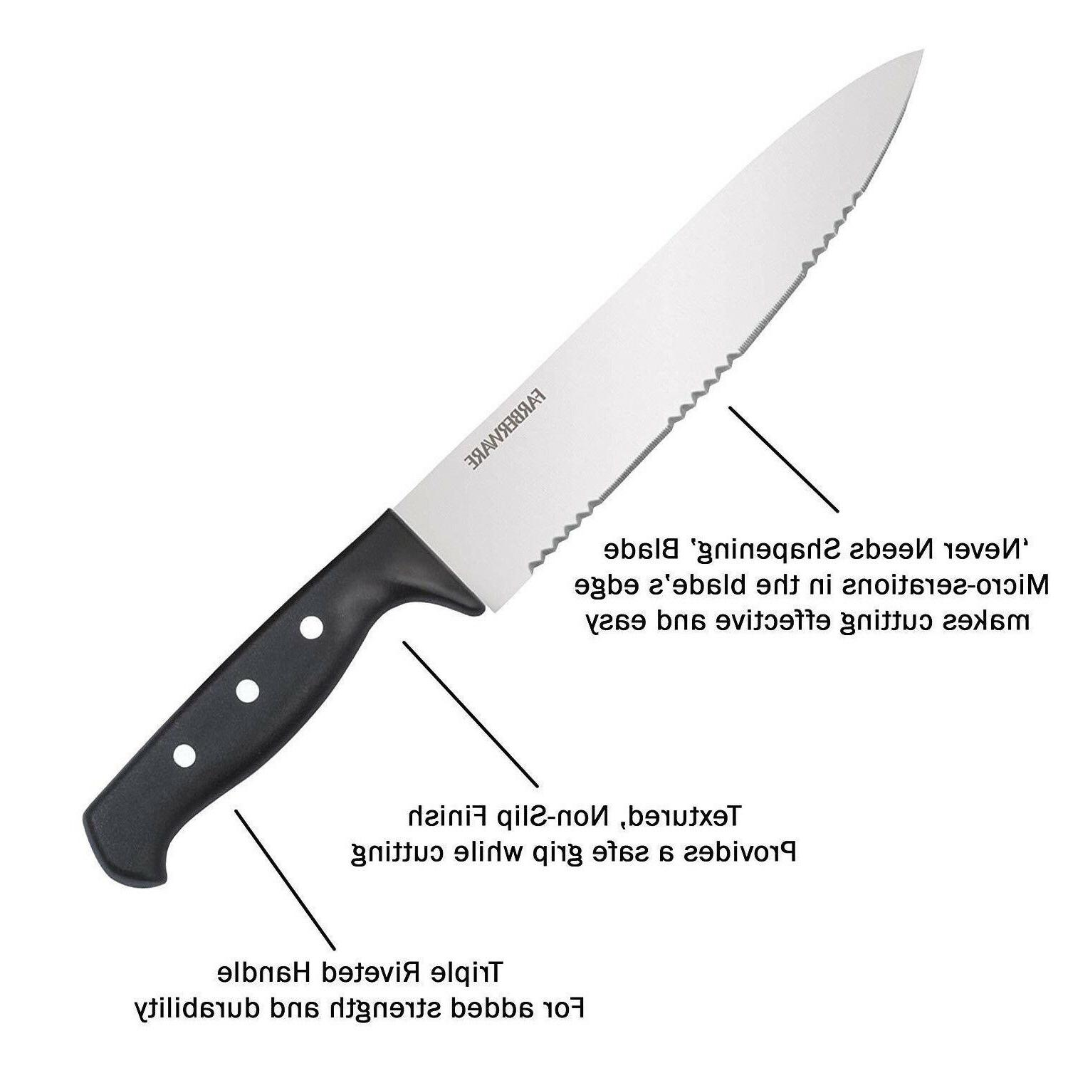 Knife Farberware Kitchen Steak