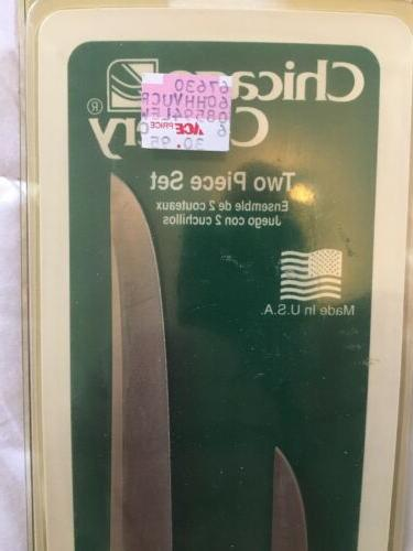 "Knife Set knives.3"" and 5"" NEW!"