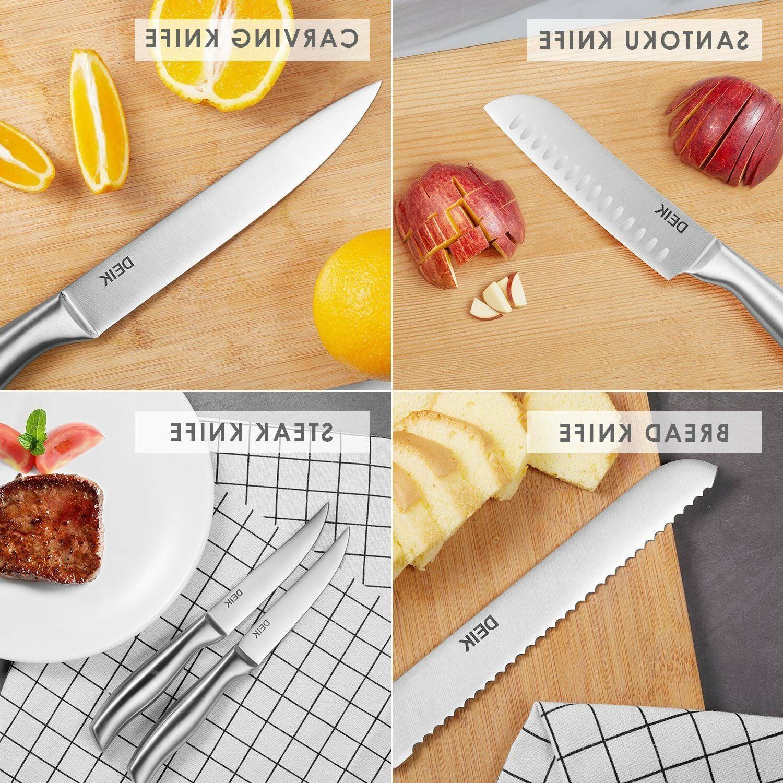 Knife Block Classic Set Steel