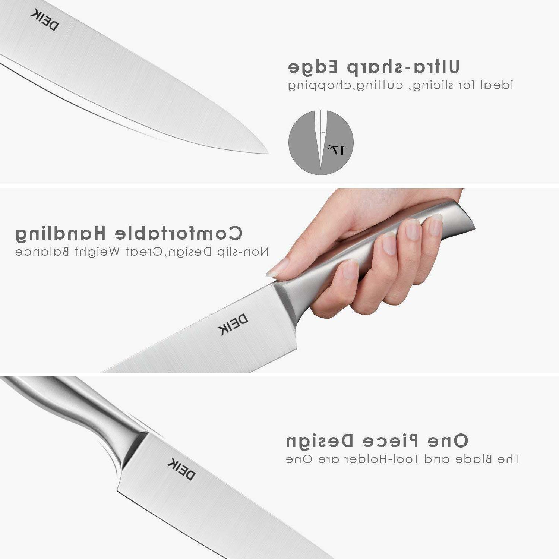 Knife 16 Pieces Block Set Block Stainless Steel