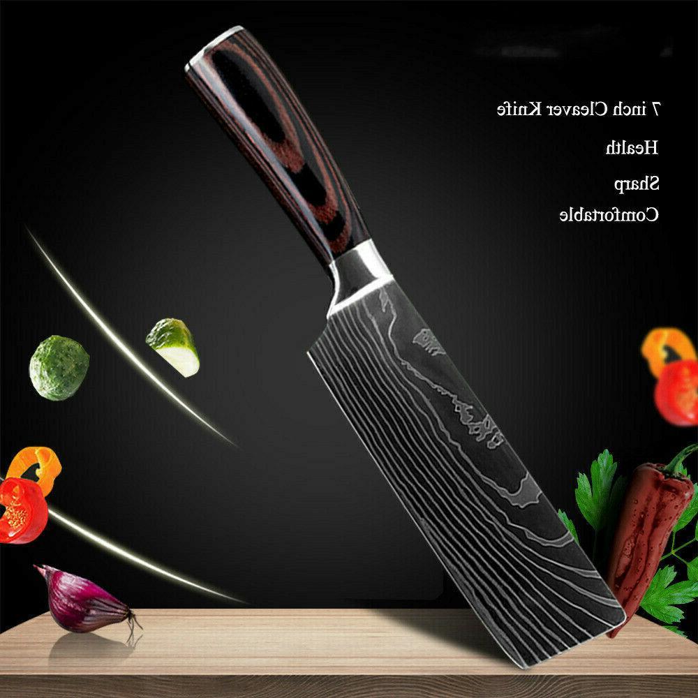 Kitchen Chef Set Japanese Damascus Steel