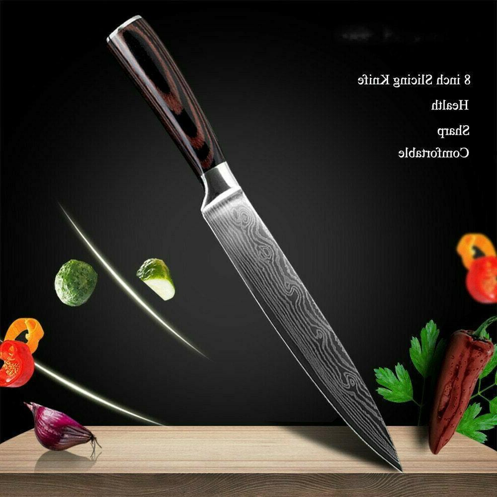 Kitchen Knives Japanese Damascus Steel Knife