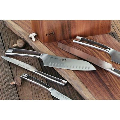 Cangshan Knife Set Tang Forged Kitchen Flatware Silver Pc