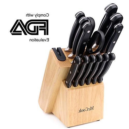 mc22 knife set includes chef