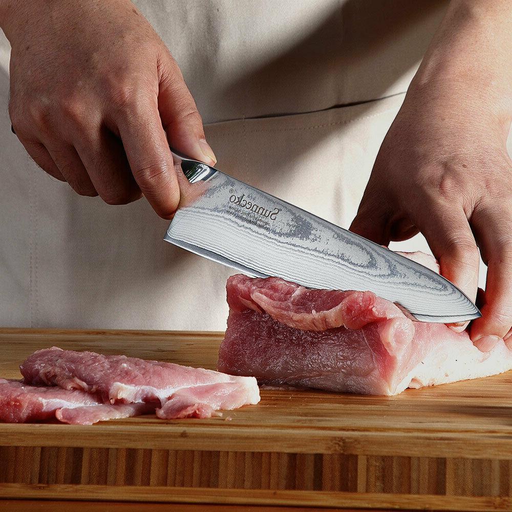 Multi-layer steel chef 8 inch kitchen cut