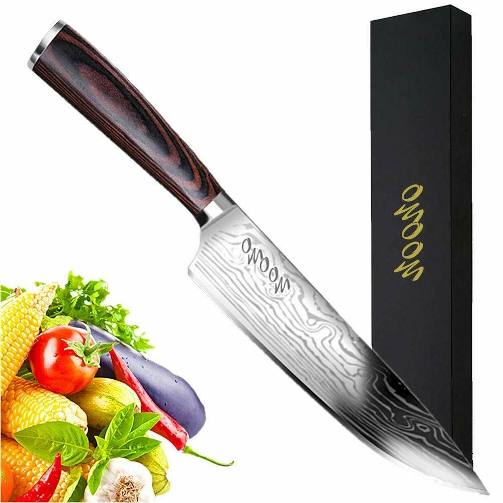 New Multipurpose Kitchen Chef Knife 8 inch High Carbon Stainless Steel Knife