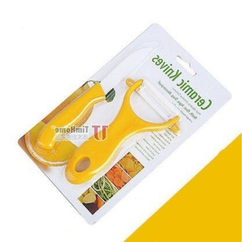 New 2 Piece Ceramic Kitchen Set Knife Sets Accessories