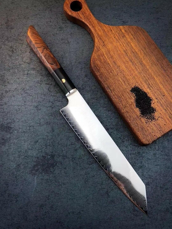 NEW Japanese Style Kiritsuke Knife VG10 Damascus Steel Chef