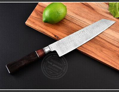 NEW VG10 Damascus Steel Chef Kitchen Knives Sushi