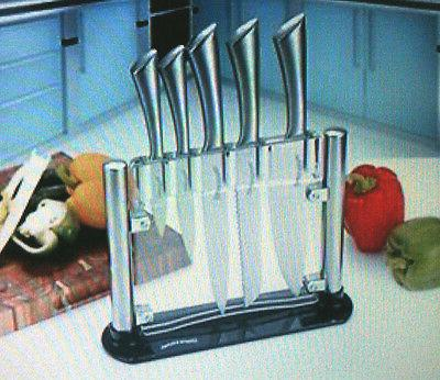 NEW Class Stainless-Steel Kitchen 6 Knife-Set