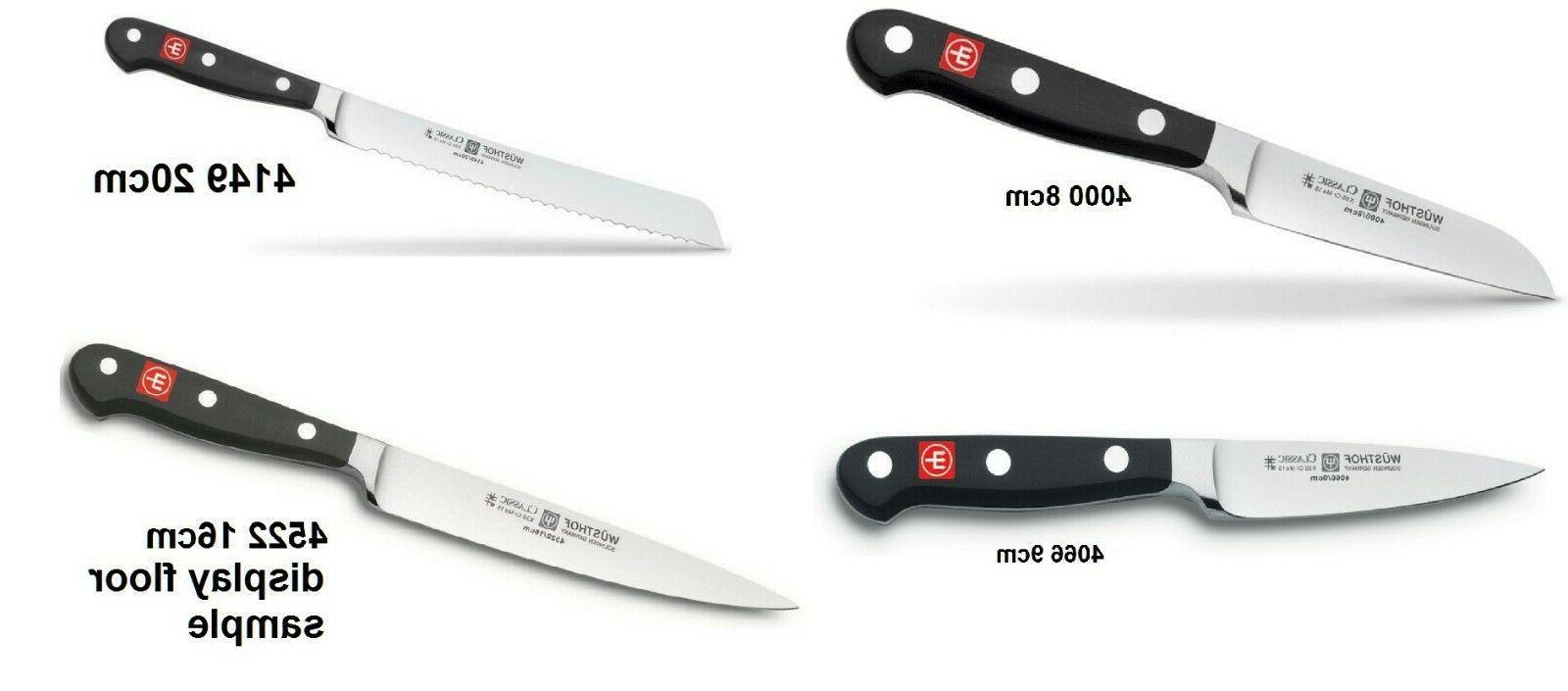 new wusthof classic kitchen knife steel germnay