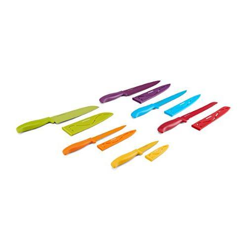 Farberware 5183157 12-Piece Non-Stick Resin Cutlery Multicolor