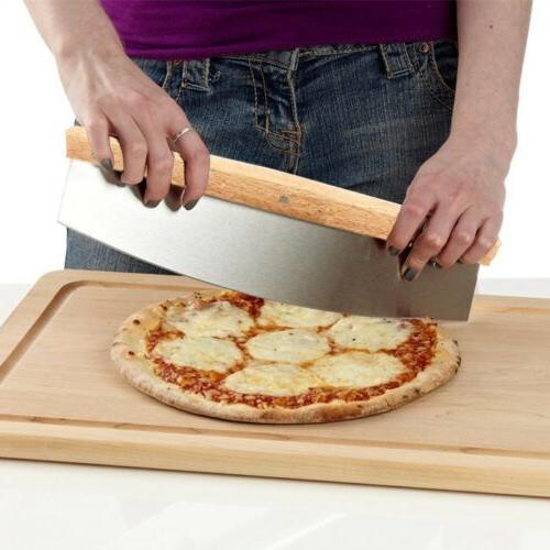 Pizza Cutter Dough Blade Baker Tool Stainless