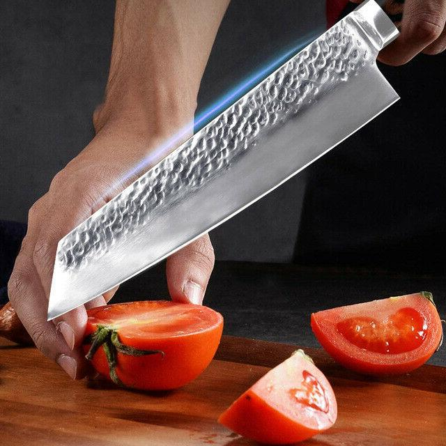 Pro Damascus Pattern Stainless Steel Knife