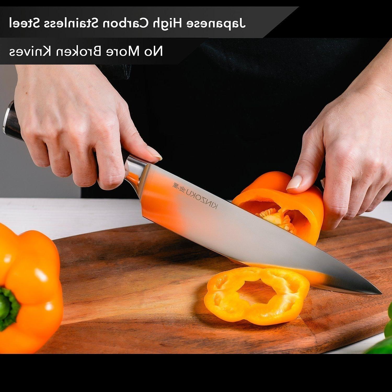 Professional Kitchen Chef Knife 8 Japanese Steel Pakka Handle New
