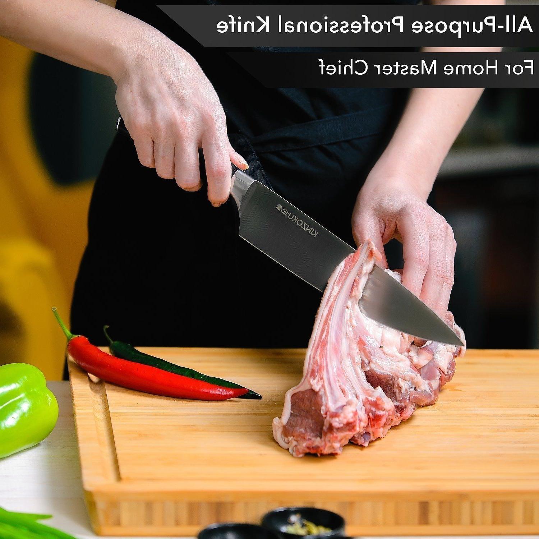 Professional Kitchen Chef 8 Stainless Steel Pakka Handle New