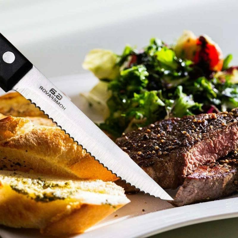 Professional of Stainless Steak Kitchen Sharp 8PC