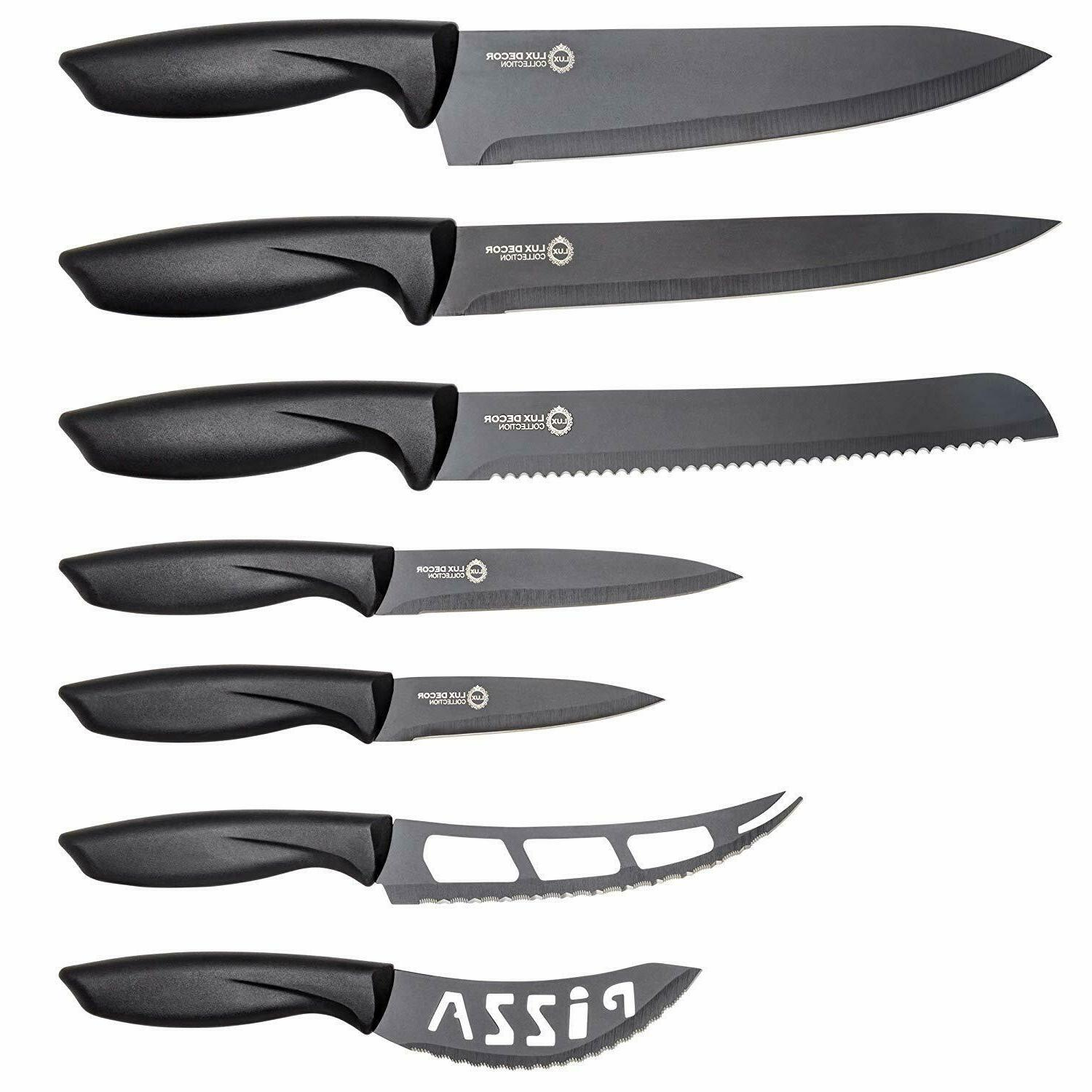 Professional Kitchen Knife Set-7pc Cutlery Set