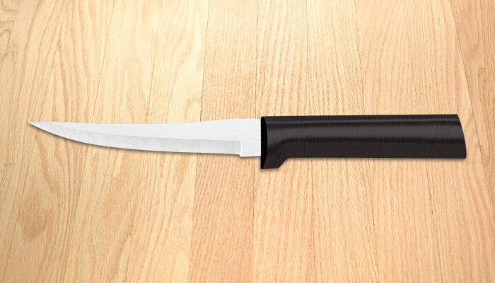 Rada Kitchen Set NO BOX 2 knife pkg deal USA made L/R hand