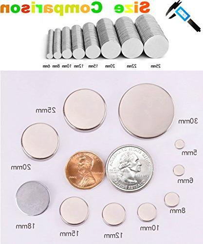 Refrigerator Magnets,Dry Board for Round Disc Whiteboard Map Magnetic DIY Decoration