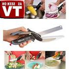 Home Kitchen Multifunctional Knife Clever Cutter 2-in-1 Cut