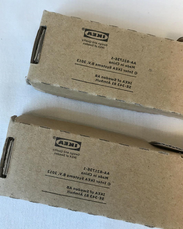 "Set IKEA GRUNDTAL MAGNETIC RACK x 1.5""W"