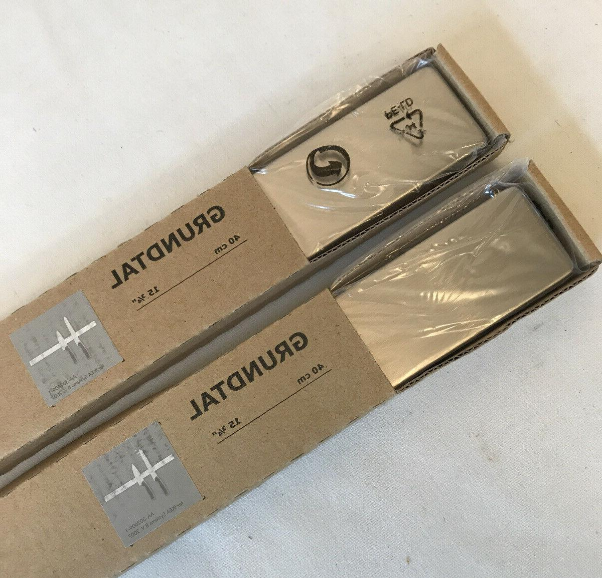 set of 2 new grundtal magnetic knife