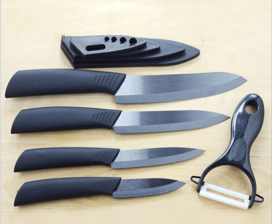 sharp ceramic knife set chef
