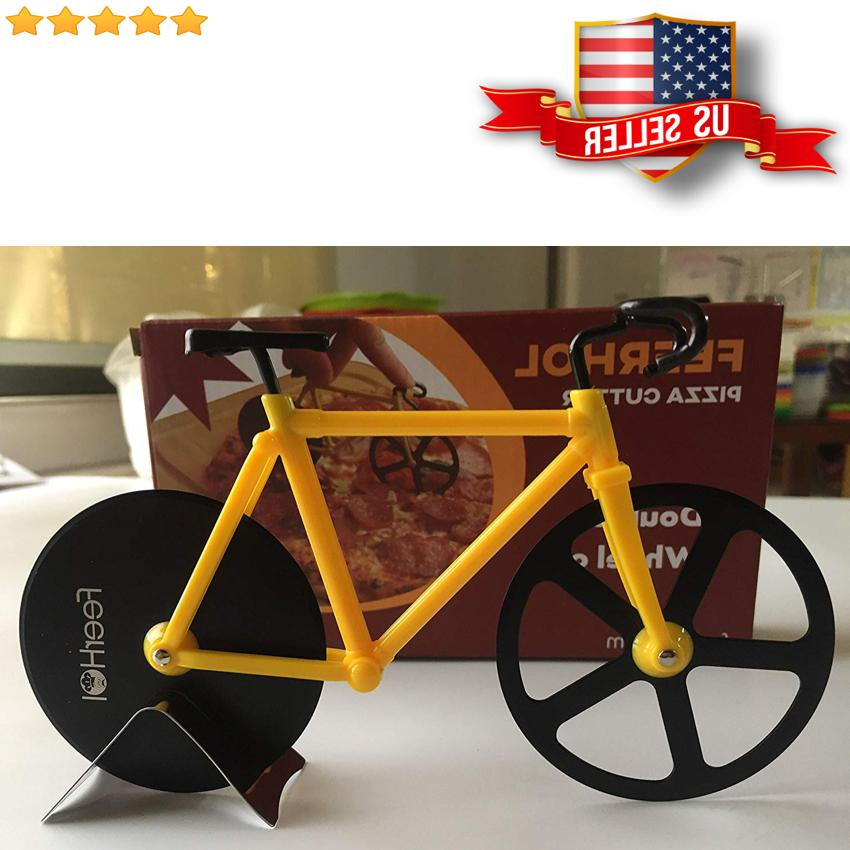 Stainless Bicycle Cutter Knife Slicer Kitchen