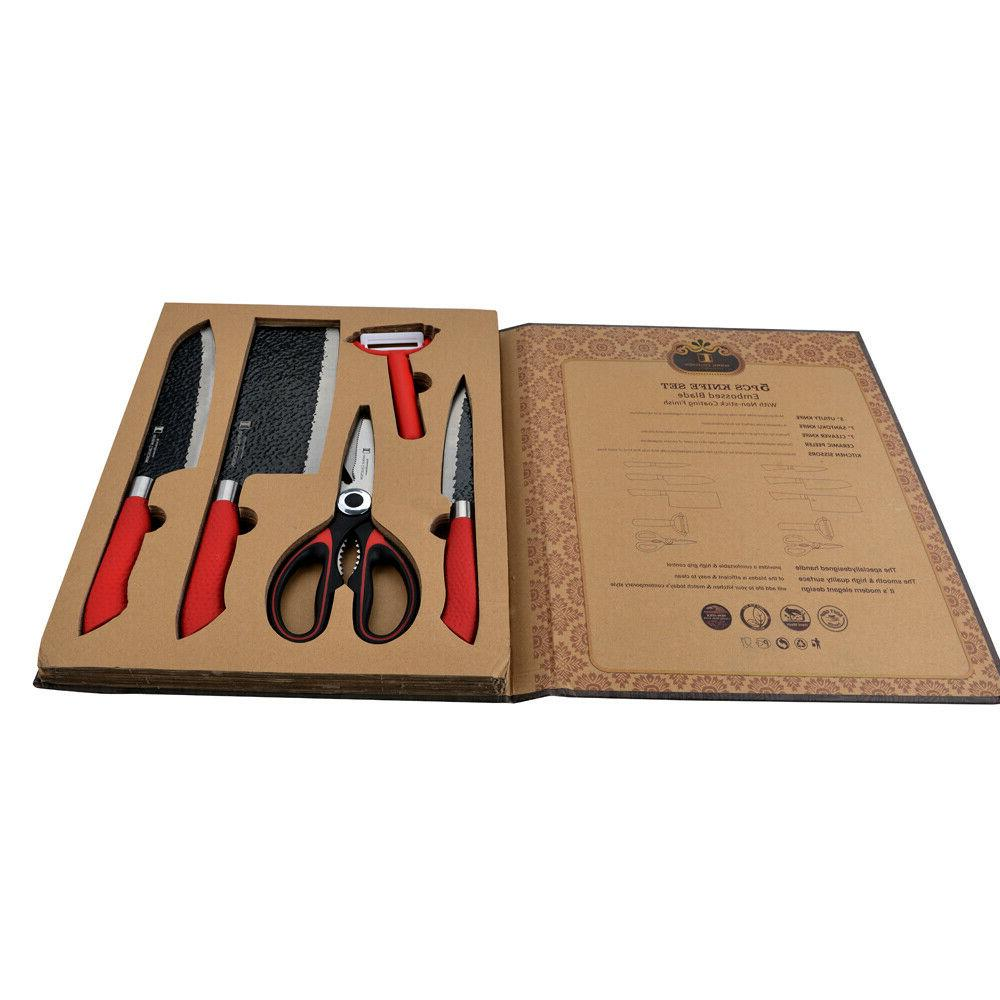 Imperial Knife Set Include 2In1 Scissor/Bottle Opener