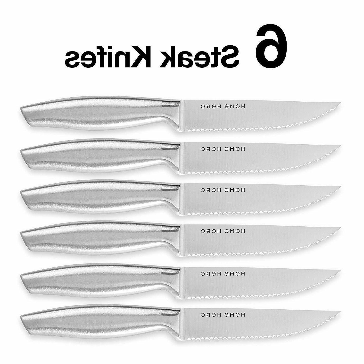 Stainless Knife Set - Kitchen Knives Chef Set