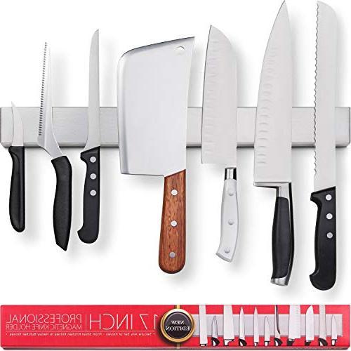 stainless steel magnetic knife holder