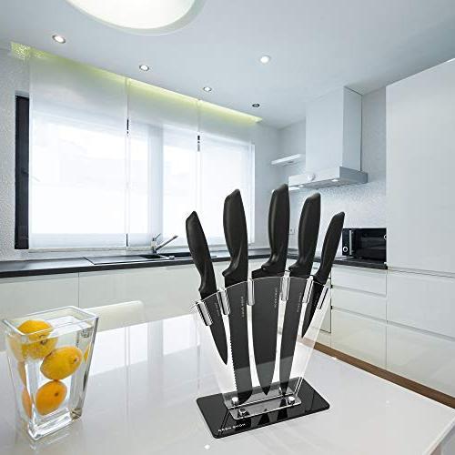 Kitchen Set Knives Plus Steel Cutlery by