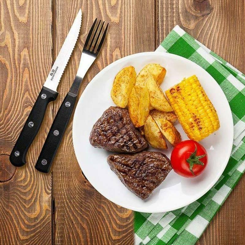 Stainless Steel Steak Professional Set