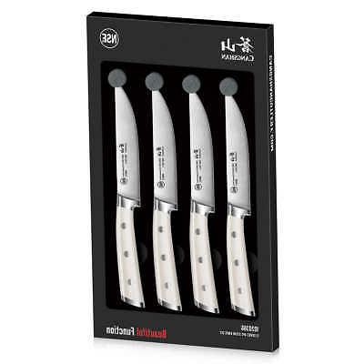 Steak Knives Set Of 4 German Forged Master Cutlery