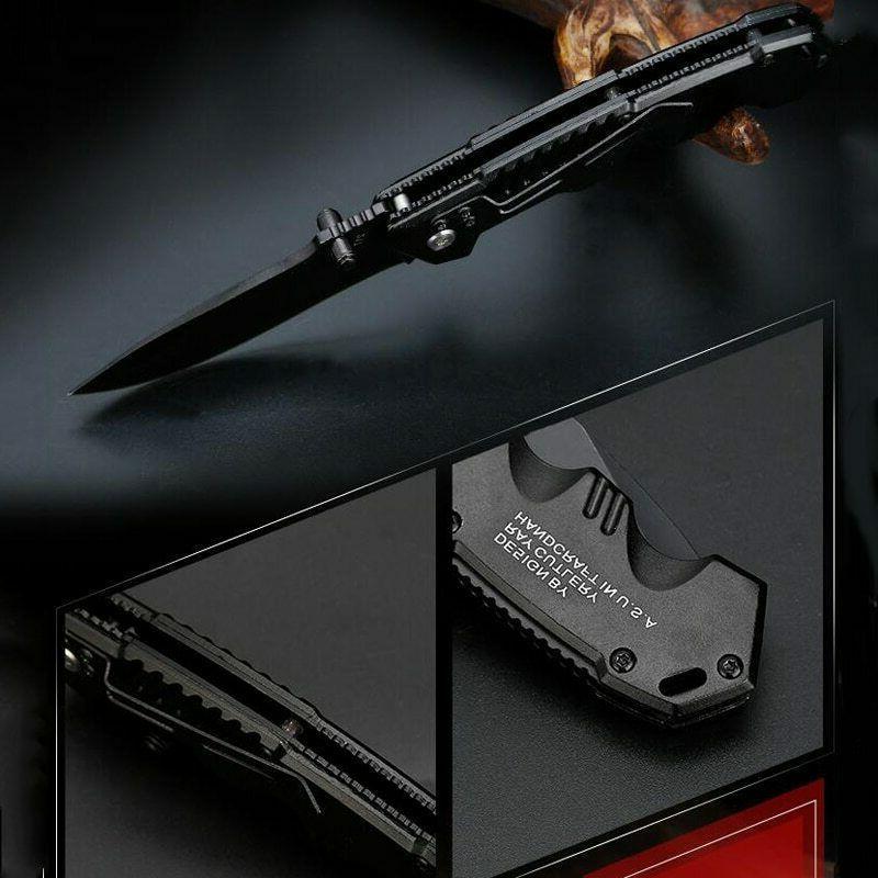 Tactical Survival Pocket Hunting Blade Multi High