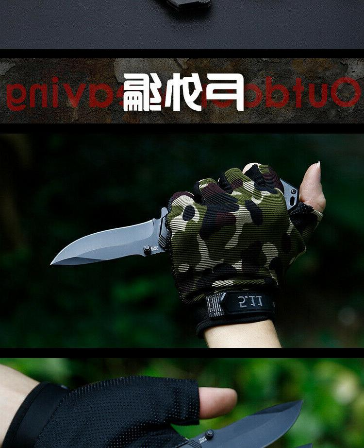 Tactical Pocket Knive Hunting Camping High Military