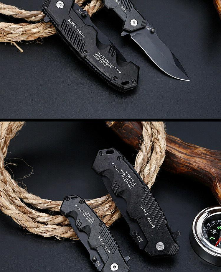 Tactical Survival Pocket Knive Hunting High Military kitchen